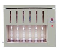 上海左樂索氏提取器BSXT-06脂肪測定儀6聯