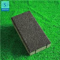 北京生态陶瓷颗粒透水砖报价 石陶