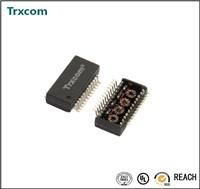 HR611661直插型單口以太網變壓器模塊
