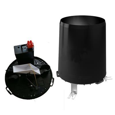 雨量計/雨量桶/雨量傳感器/ABS雨量桶廠家** 485 脈沖輸出