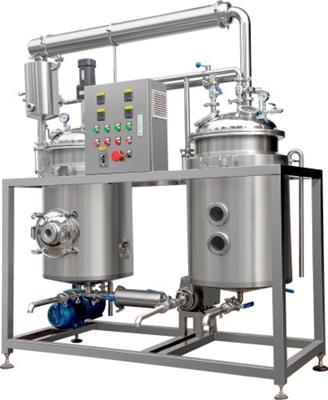 小型魚腥草素提取濃縮設備實驗型多功能提取濃縮設備