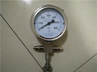 供應風機測溫件液體壓力式WTYY-1021壓力式遠傳溫度計