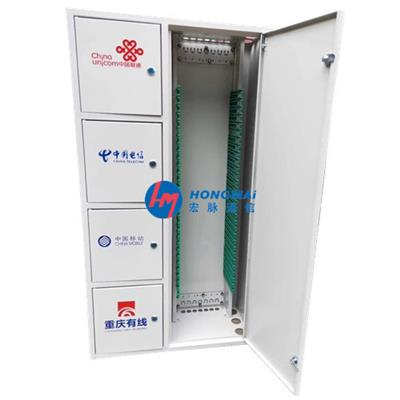 576四網合一光纖配線架容量配置簡介