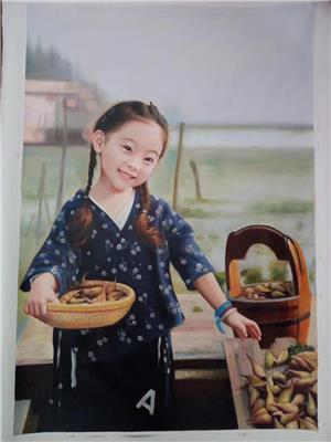 南通肖像油畫