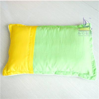 西部教具纯**幼儿园儿童学生荞麦壳枕芯纯棉枕套枕头荞麦壳枕芯