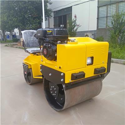適合小型區域壓實作業的座駕式壓路機廠家供應 奔馬牌bmy850型振動壓路機價格