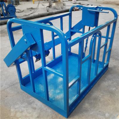 土吊車*吊車吊框 外墻粉刷吊車*框  360度旋轉吊車吊籃廠家