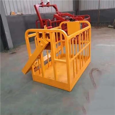 自動調平吊車吊籃 360度旋轉吊車吊框 1.2 1.5米吊車*框廠家
