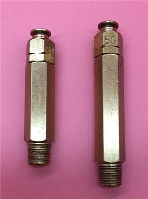 快插式定量加壓式稀油計量件SOK-3 5 10 20 30 50