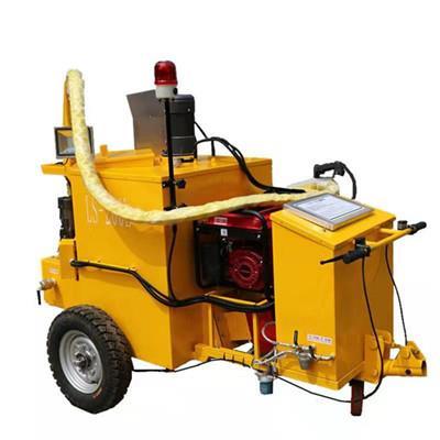 山東力特達手扶瀝青灌縫機 馬路養護設備 混凝土裂縫填補機 小區水泥道路修補機
