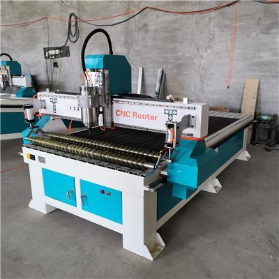 杭州雕刻機公司 氣動壓輥復合板切割機