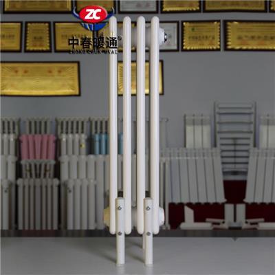 钢六柱暖气片产品 钢六柱散热器 GZ607钢制柱型散热器