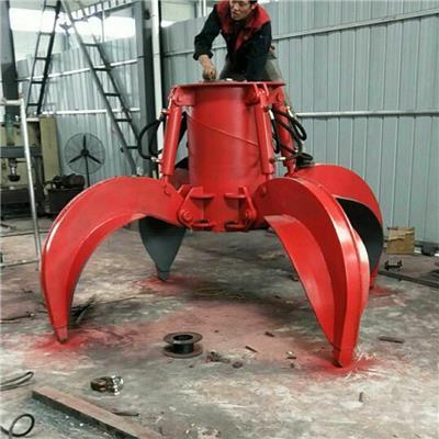 *銷售液壓旋轉抓木器 廢鋼抓鋼機 旋轉式抓鋼機 輪挖液壓夾木器