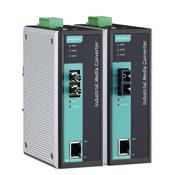 MOXA IMC-101-S-SC 工業型光電轉換器
