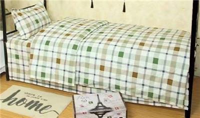 32支纯棉学生公寓床上用品三件套厂家批发