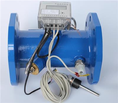 鑄鋼塑殼管網式大口徑超聲波熱量表、遠傳式熱計量表DN150