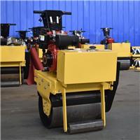 手扶式壓路機小型單鋼輪壓實機單輪手扶壓路機