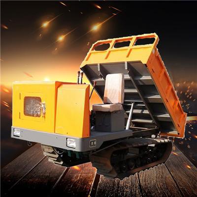 4噸履帶運輸車 雙*自卸裝載機 4噸工程履帶車 農用爬坡虎履帶運輸車