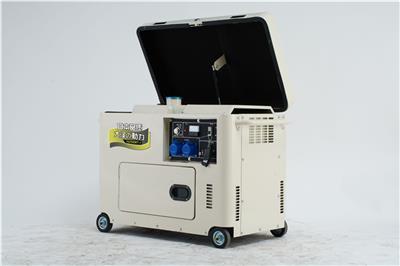 7kw柴油發電機低噪音款
