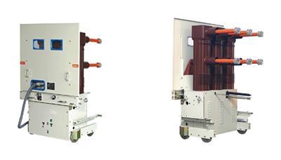 ZN85-40.5 630A固封式35KV戶內高壓真空斷路器