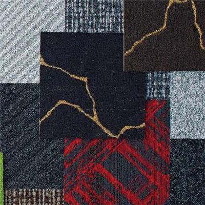 成都东理西南区总代理方块地毯提花满铺毯