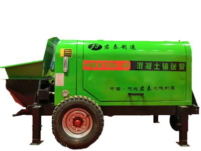 云南混凝土二次結構輸送泵 小型輸送泵君泰機械