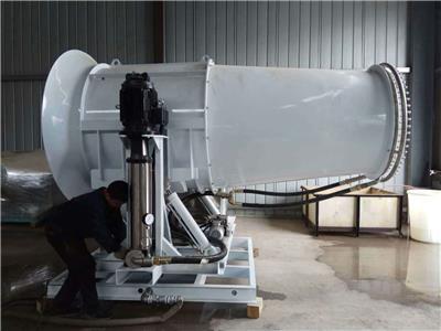 環保除塵高塔固定移動式噴霧機霧炮機大流量高射程水泵
