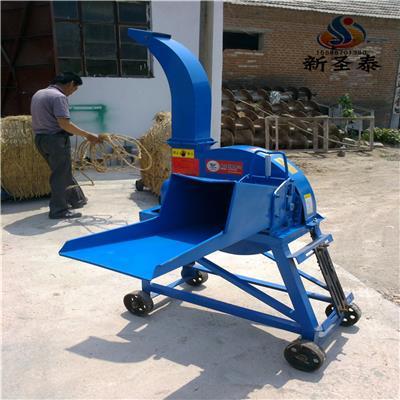 拖拉機帶牧草收割打捆機廠家 青儲收割粉碎打包機
