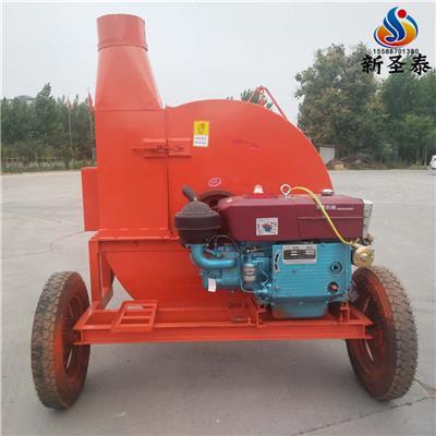 拖拉機帶動青儲收割粉碎回收機廠家 高粱青儲收割機