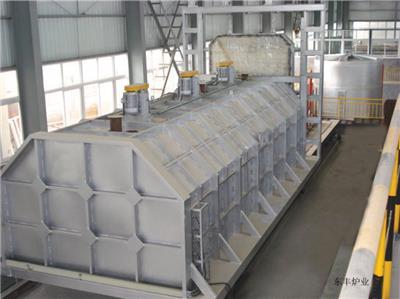 東豐爐業加熱罩移動式臺車爐倍受用戶好評