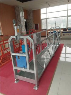 獻縣電動吊籃廠家zlp630熱鍍鋅電動吊籃型號齊全定做各版本鋼結構