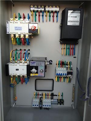 雙電源自動轉換控制箱