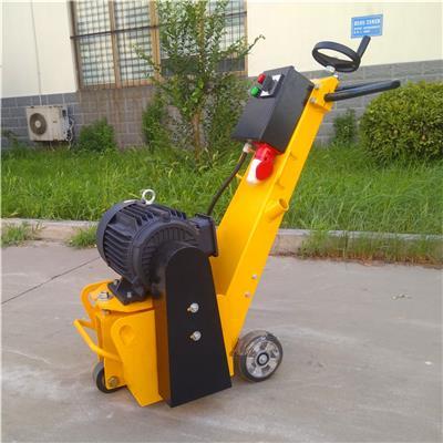 山東小型銑刨機批發電動路面銑刨機拉毛機新款路面小型銑刨機