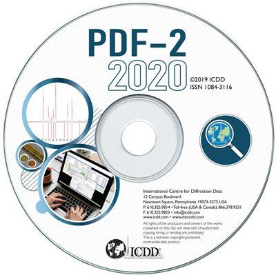 PDF-2 2020衍射數據庫卡片