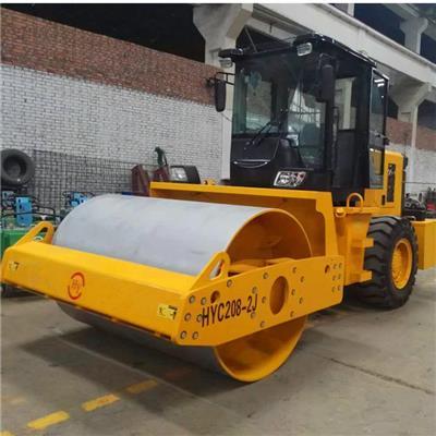 生產8噸壓路機 座駕式單鋼輪壓路機 駕駛式振動壓路機廠家