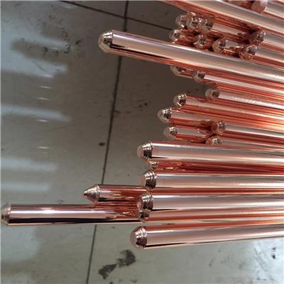 廣東鍍銅角鋼 鍍銅鋼管 18mm鍍銅鋼棒 鍍銅接地棒
