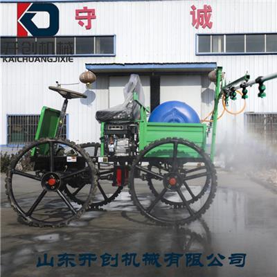山东开创厂家190F车载式高压风送打药机