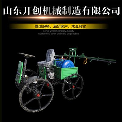 山东开创厂家定制大马力车载式500X高压风送打药机