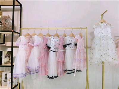 京貝貝女童公主紗裙中童連衣裙**折扣童裝尾貨批發