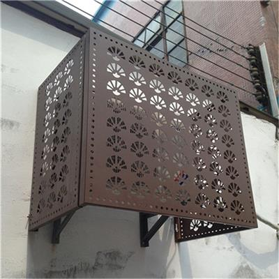 南京歐式空調外機罩廠家 宿舍樓調外機罩