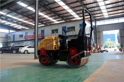 小型壓路機震動手扶式單輪雙鋼輪1噸草坪2瀝青3壓實全液壓壓土機