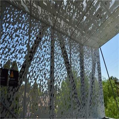 佛山鋁單板雕花廠家 鏤空外墻鋁板