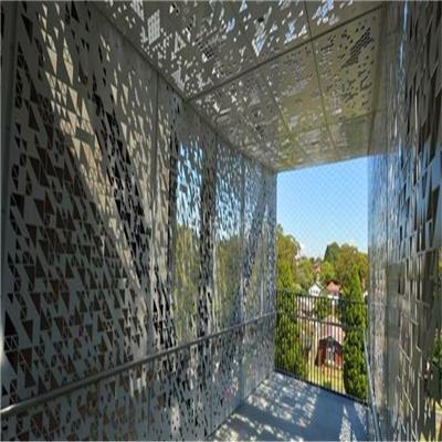 賀州鋁單板雕花廠家 鏤空外墻鋁板