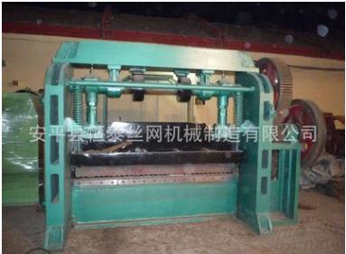 恒泰廠家**高速鋼板拉網機 高速鋼板網機 鋼板網沖剪機