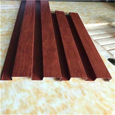 盤錦木紋鋁單板廠家 木紋鋁天花