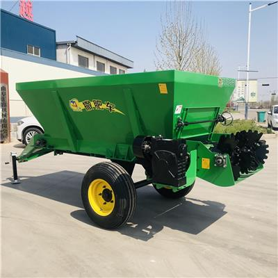 大型撒糞機廠家 操作視頻 大棚撒肥車