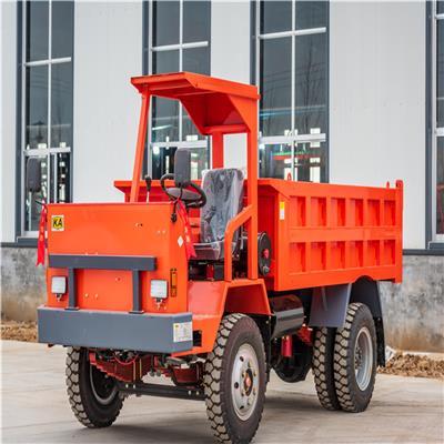 礦山出渣翻斗車采用濕式制動可拉8噸礦山