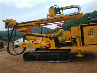 多功能鉆機 隧道管棚 系統錨桿 *前探孔 邊坡治理 基坑支護  斜拉樁錨索 抗浮錨桿