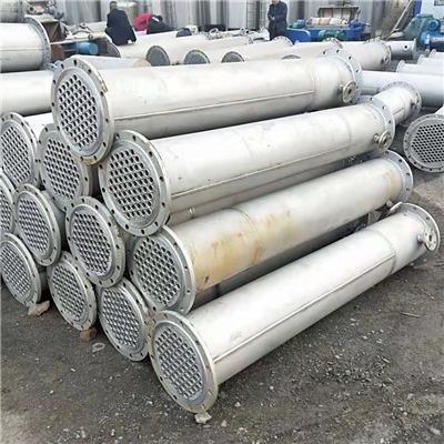 我公司**出售不銹鋼冷凝器二手冷凝器 加工定制各種型號不銹鋼冷凝器