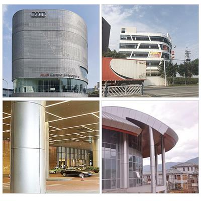 寧波包柱鋁單板廠家 商場鋁單板包柱